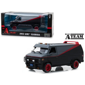 1:24 1983 GMC Vandura: The A-Team Van -- 1983-87 TV Series -- Greenlight