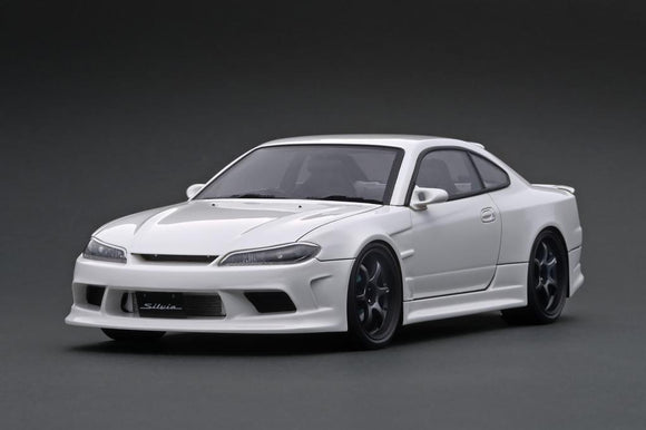 1:18 Nissan S15 Silvia -- White Vertex -- Ignition Model IG2000