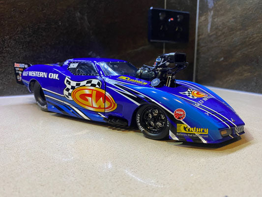 1:18 Ben Bray Pro Doorslammer Champion -- Chevrolet Corvette Stingray