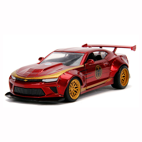1:32 Iron Man -- 2016 Chevrolet Camaro SS -- Hollywood Rides