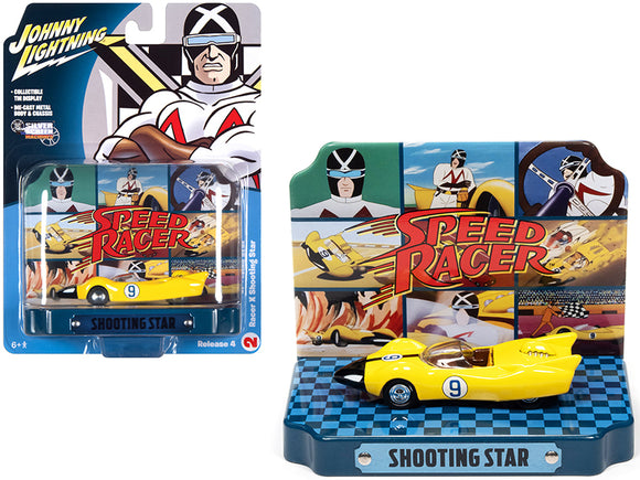 1:64 Speed Racer w/Collectible Tin Display -- Racer X Shooting Star -- Auto World