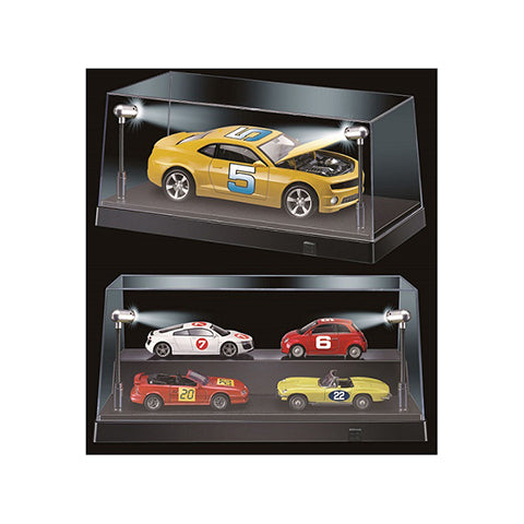 1:24 or 1:43 LED Display Case -- 3 Base Colours Available