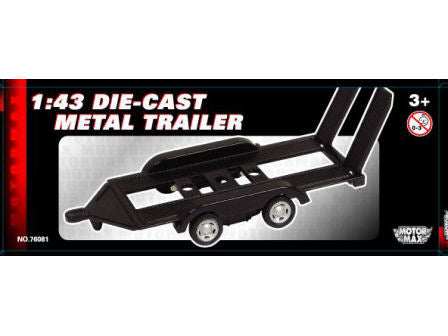 1:43 Metal Car Trailer