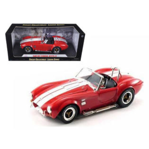 1:18 Shelby Cobra 427 S/C -- Red with White Stripes -- Shelby Collectibles