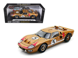 1:18 1966 Ford GT-40 Mk 2 -- Le Mans 24 Hour #5 3rd Place -- Shelby Collectibles