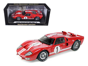 1:18 1966 Ford GT-40 Mk 2 -- Red #1 -- Shelby Collectibles