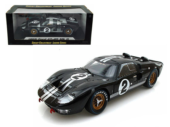 1:18 1966 Ford GT-40 Mk 2 -- Le Mans 24 Hour Winner #2 -- Shelby Collectibles