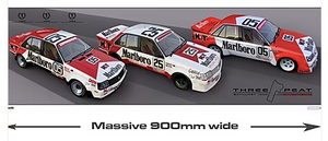 1982, 83, 84 The 'Threepeat' Print -- Peter Brock HDT Commemorative -- Hughes