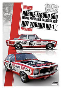 1972 Bathurst Winner Print -- Peter Brock Holden Torana -- Peter Hughes