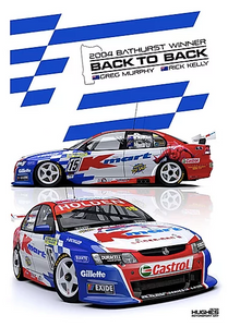 2004 Bathurst Winner -- Holden VY Commodore Murphy/Kelly -- Hughes Print