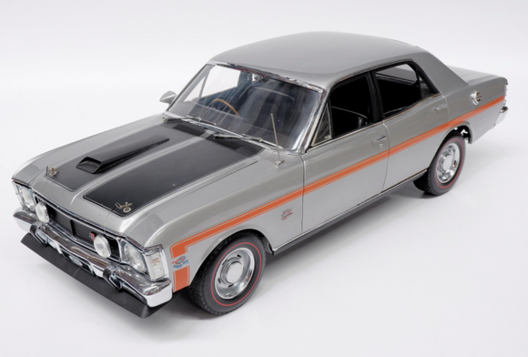 1:8 1970 Ford XW Falcon GTHO Phase II -- Silver -- ICON Models