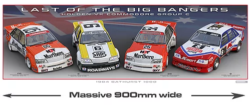 1984 Bathurst -- The Last 4 Big Bangers -- Holden VK Commodore -- Peter Hughes