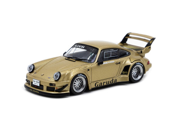 1:43 RWB Porsche 930 -- Garuda Brown -- Tarmac Works