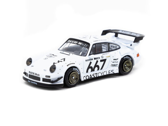 1:64 RWB 930 - Coastcycles -- Tarmac Works Porsche