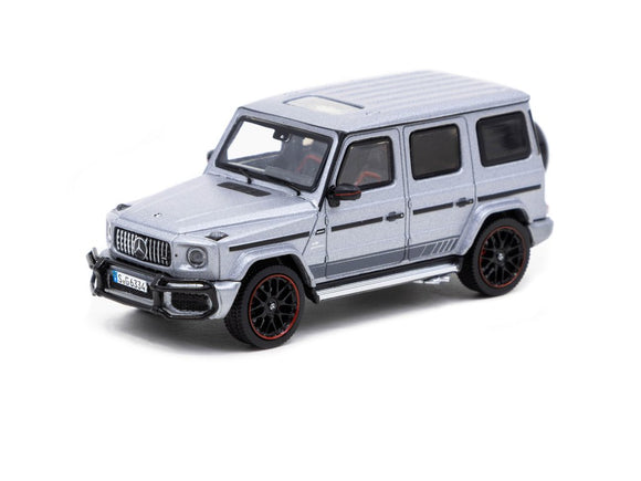 1:64 Mercedes-AMG G63 -- Matte Grey -- Tarmac Works