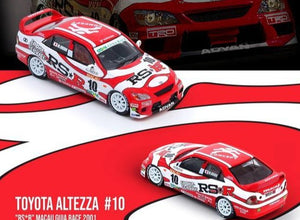 1:64 Toyota Altezza -- #10 Team RS*R 2001 Macau Guia Race -- INNO64