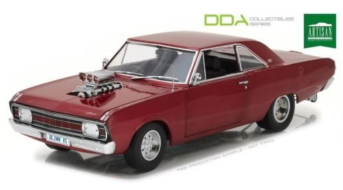 1:18 1970 Chrysler VG Valiant Pacer -- Drag Car w/Supercharger -- Greenlight DDA