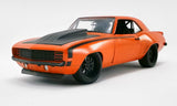 (Pre-Order) 1:18 1969 Chevrolet Camaro Street Fighter -- Inferno Orange -- ACME