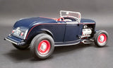 1:18 1932 Ford Roadster Hot Rod -- Washington Blue -- ACME
