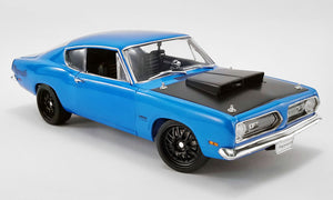 1:18 1969 Plymouth Barracuda Street Fighter -- Petty Blue -- ACME