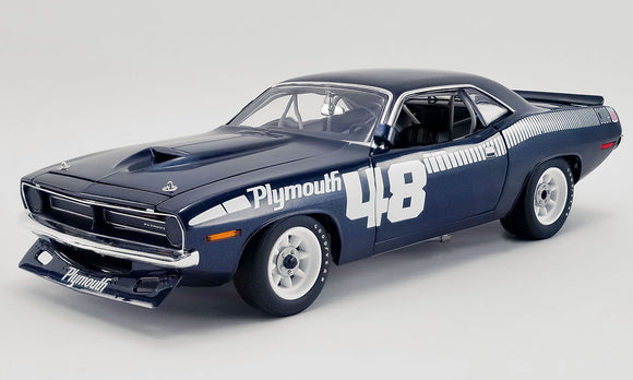 1:18 1970 Plymouth Trans Am Barracuda -- Dan Gurney #48 Pilot Car -- ACME
