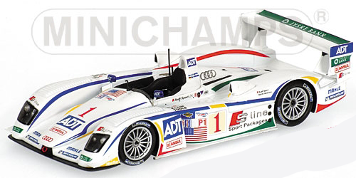 1:43 2005 ALMS Atlanta Winner -- #1 Audi R8 -- Team Champion -- Minichamps