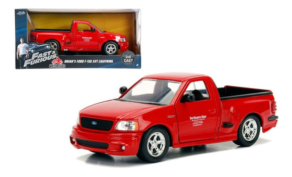 1:24 Brian's Ford F-150 SVT Lightning -- Fast & Furious