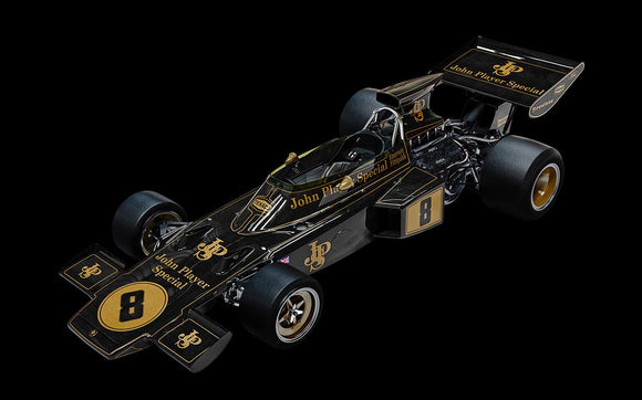 (Pre-Order) 1:8 Lotus 72D -- 1972 British GP -- Emerson Fittipaldi -- Pocher