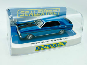 Scalextric -- Ford XY Falcon GTHO Phase 3 -- Electric Blue