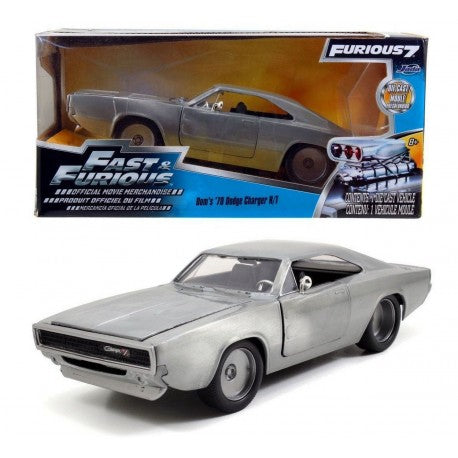 1:24 Dom's 1970 Dodge Charger Bare Metal -- Fast & Furious