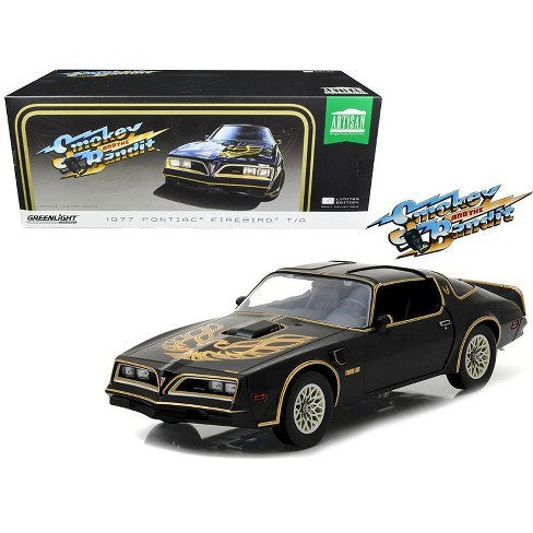 1:18 1977 Pontiac Firebird Trans Am -- Smokey & the Bandit -- Greenlight