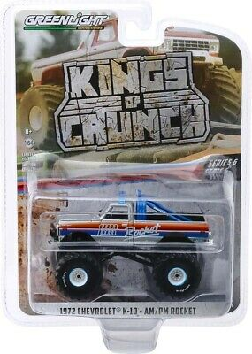 1:64 1972 Chevrolet K-10 - AM/PM Rocket -- Monster Truck -- Kings of Crunch