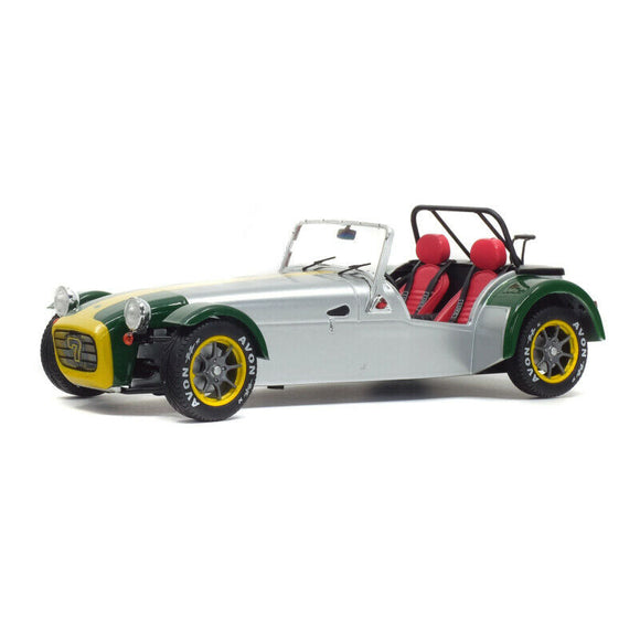 1:18 1989 Lotus Seven -- Aluminium Body w/Green Nose -- Solido