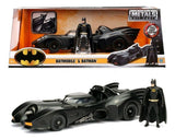 1:24 1989 Batmobile w/Batman Figurine -- Batman Movie -- JADA