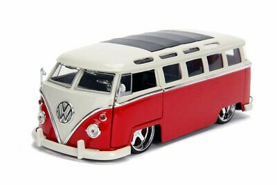 1:24 1962 VW Bus -- Red -- JADA Bigtime Kustoms Volkswagen Kombi