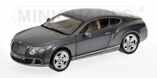 1:18 2011 Bentley Continental -- Grey Metallic -- Minichamps