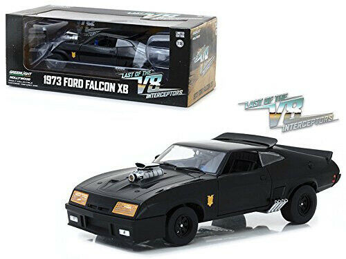 1:18 1973 Ford Falcon XB -- V8 Interceptor Mad Max -- Greenlight