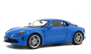 1:18 2018 Alpine A110 Pure -- Alpine Blue -- Solido