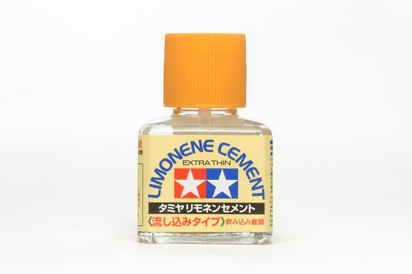 Tamiya Limonene Cement Extra Thin (Glue) -- 40mL