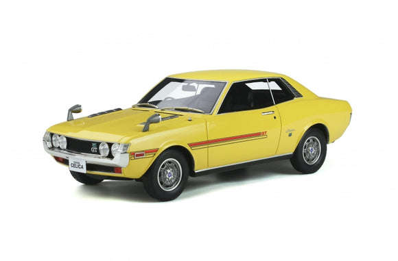 1:18 1970 Toyota Celica GT Coupe (R22) -- Yellow -- Ottomobile