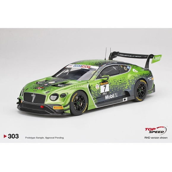 1:18 2020 Bathurst 12 Hour Winner -- #7 Bentley Continental GT3 -- Top Speed Models