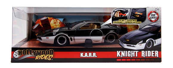 1:24 Knight Rider KARR w/Working Lights -- Hollywood Rides JADA