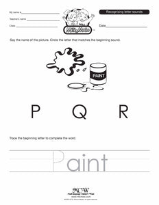 Letter P_English