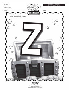 Letter Z_English