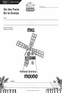 On the Farm_En la Granja_Worksheets_BILINGUAL / BILINGÜE_ENGLISH / SPANISH