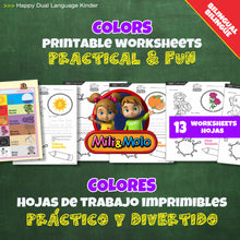 Load image into Gallery viewer, Colors / Colores Worksheets_BILINGUAL / BILINGÜE_ENGLISH / SPANISH