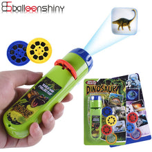 Load image into Gallery viewer, 1G-Balleenshiny Parent-child Interaction Puzzle Early Education Luminous Toy Animal Dinosaur Child Slide Projector Lamp Kids Toys