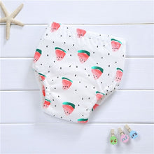 Load image into Gallery viewer, Baby Infant Toddler Waterproof Training Pants Cotton Changing Nappy Cloth Diaper Panties Reusable Washable 4 Layers Crotch