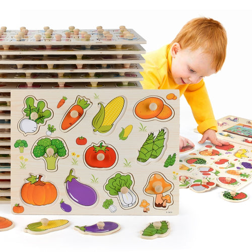 Wooden Puzzle Educational