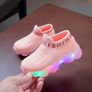 Kids Sneakers Light Up